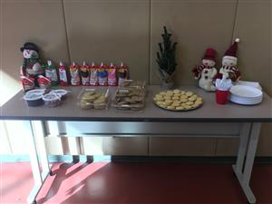 cookie table set up