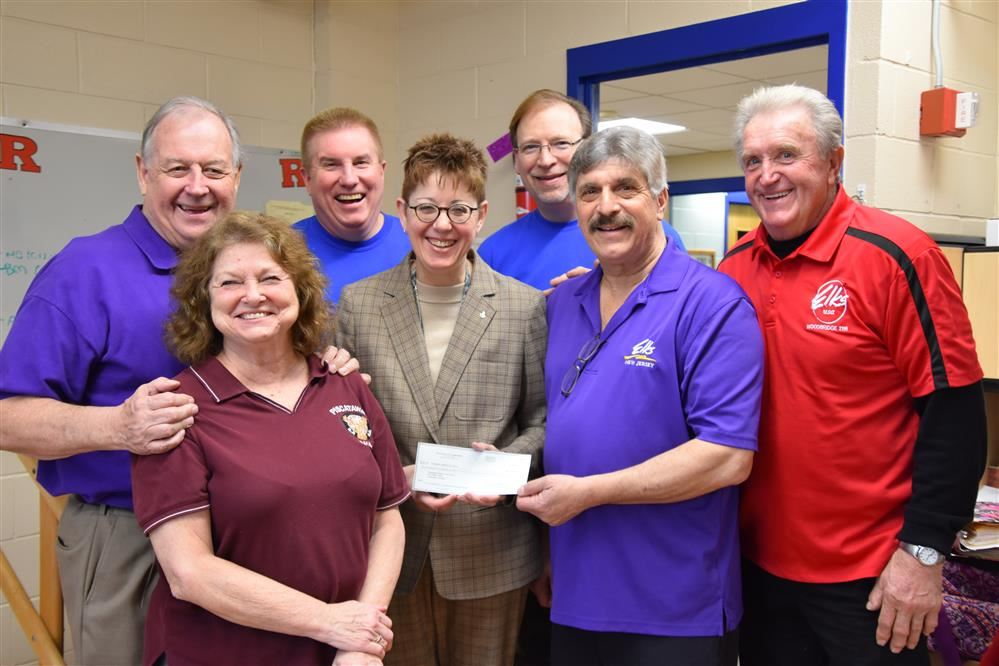 PRDS RECEIVES DONATION FROM ELKS