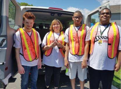 PAL students inspect Recycling in Sayreville