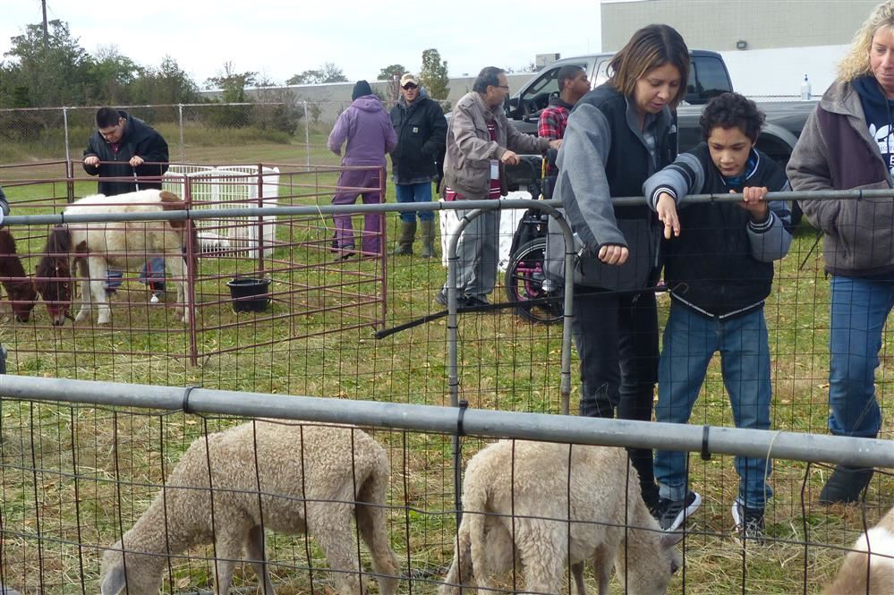 Petting Zoo Visits Piscataway Campus